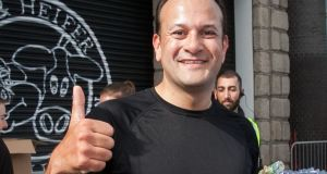 Leo Varadkar  will be of three EU leaders under the age of 40. Photograph: Gareth Chaney Collins