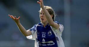Waterford's Aileen Wall impressed as her team beat Cork. Photograph: Inpho