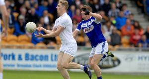 Daniel Flynn in action for Kildare against Laois on Sunday. Photograph: Inpho