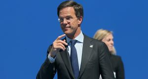 Mark Rutte, the Dutch prime minister: 83 days since the general election and  no sign of a workable government yet. Photograph:   EPA/Stephanie LeCocq