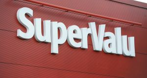 SuperValu's 22.5 per cent share of the Irish grocery market  continues to put it ahead of Tesco and Dunnes Stores. Photograph: Cyril Byrne / THE IRISH TIMES