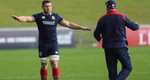 CJ Stander is set to make his Lions debut against the Blues on Wednesday. Photograph: David Roger/Getty