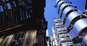 Lloyds building in London. Lloyds will set up its EU base in Brussels