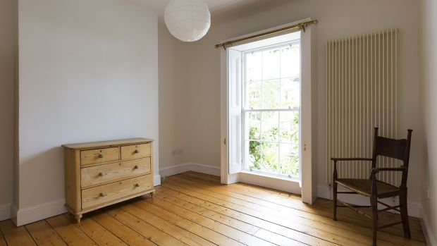 A bedroom at 4 Richmond Place, Rathmines