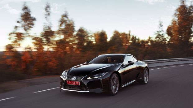 "Lexus LC: although slower than the rest, the LC makes up for its ""mere"" 477hp with its cushioned and well-composed ride quality and precise handling"