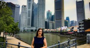 "Caroline Bowler's advice for those in Asia includes: ""Make connections, reach out via LinkedIn, start the ball-rolling. Momentum carries a person."""