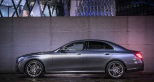 King of the executive saloons:  the Mercedes-Benz E-Class might just be the best  car that you can buy at the moment, offering gorgeous styling and strong performance from its engine