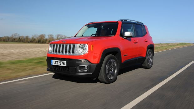 Jeep Renegade: its that upright, square styling is refreshing among a sea of soap-bar designs from rivals