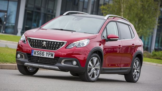 Peugeot 2008: good looking and has a bright, roomy cabin which is far nicer for those sitting in the back than is the norm in this class