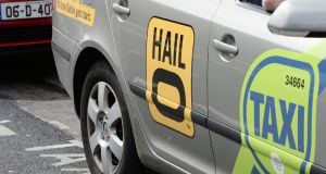 Hailo became MyTaxi in March but for two months after the changeover both apps were running side by side. Photograph: Alan Betson / The Irish Times