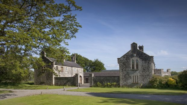 Converted stableyard at Martinstown House, Co Kildare. Photograph: James Fennell