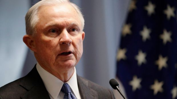 Attorney general Jeff Sessions: according to sources, Mr Sessions offered to resign in recent weeks as he told Mr Trump he needed the freedom to do his job. Photograph: Frank Franklin II/AP