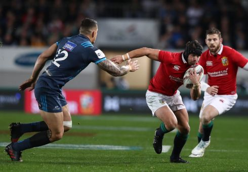Super Rugby's Blues score late try to beat Lions