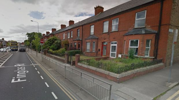 Rachid Redouane gave his home address as a flat in a house on 41, Finglas Road, Cabra, close to Glasnevin Cemetery. Photograph: Google Street View