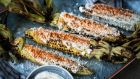 One of Mexico's best street food offerings, elote is grilled corn coated in mayonnaise, cheese and chilli