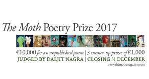 The €10,000 prize for a single unpublished poem (with three runner-up prizes of €1,000) will continue as The Moth Poetry Prize