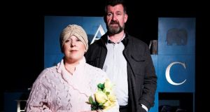 The cast has been whittled down to two protagonists, Noel (Steve Blount) and the social worker Moira Tierney (Claire Barrett)