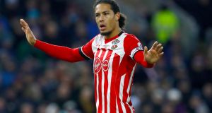 Southampton asked the Premier League to investigate an alleged illegal approach from Liverpool for Virgil van Dijk. Photo: Martin Rickett/PA Wire
