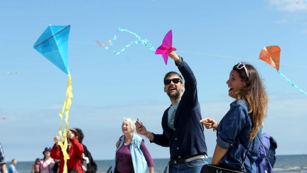 The Dublin Kite Festival is flying high on Sunday, June 18th, on North Bull Island in Clontarf. Photograph: Jason Clarke