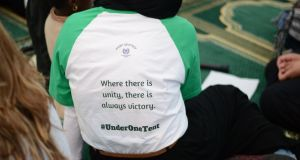 The event  aims to encourage  understanding among Irish people at a time when followers of Islam are being increasingly stigmatised. Photograph: Under One Tent