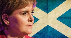 "Nicola Sturgeon admitted she was ""disappointed"" by the results."