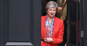 Theresa May: it can be only a matter of time before she steps down. Photograph:  Chris J Ratcliffe/Getty