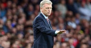 "Former Sunderland manager David Moyes has been fined £30,000 for his ""slap"" comment towards a female journalist in March. Photo: Getty Images"