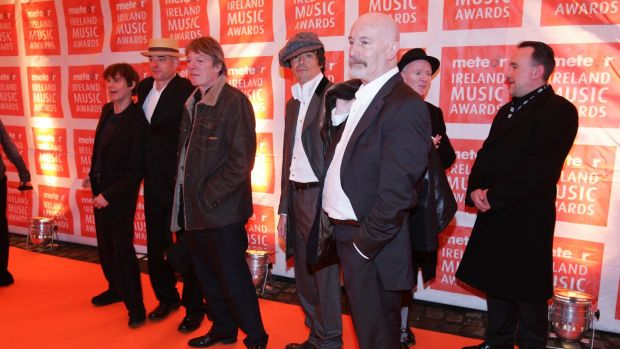 The Pogues at an awards ceremony in 2006. Simon say the band are 'somewhere beyond the realm of ordinary music'. File photograph: Frank Miller