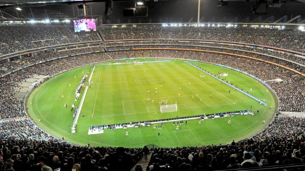 Argentina beat Brazil in front of 95,000 fans in Melbourne