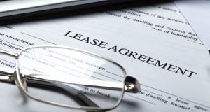 """It would advisable to relinquish the existing lease agreement and have a new lease drawn up."" Photograph: iStock"