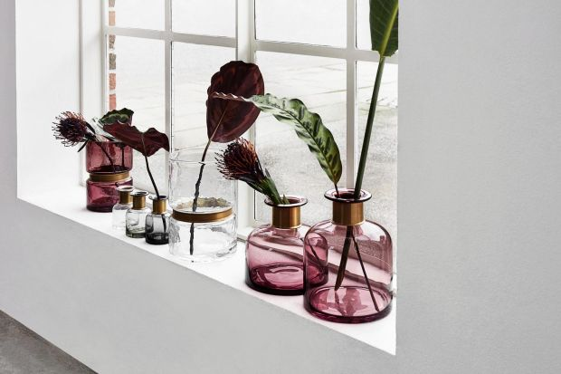 Vases by Danish company Nordal
