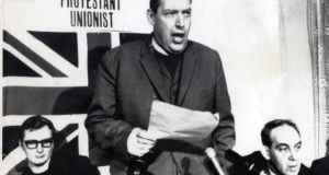 Undated picture of Ian Paisley.