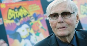 FIle image of actor Adam West attending New York Comic Con  on October 6th, 2016. File photograph: Mike Coppola/Getty Images