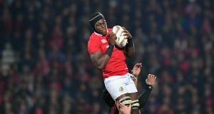 Maro Itoje  has to feature somewhere at some stage against the All Blacks. Photograph:  Kai Schwoerer/Getty Images