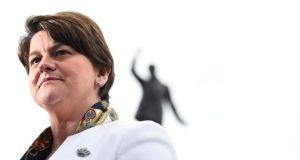 "Tight lipped: Arlene Foster, the DUP leader, would say in February only that the £435,000 donation came from ""an organisation in England that wants to see the Union kept"". Photograph: Clodagh Kilcoyne/Reuters"