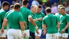 "Ireland head coach Joe Schmidt: ""There are guys on standby, but what happens is when they go away on holiday as they normally would, they just take their boots and their gumshield."" Photograph: Ryan Byrne/INPHO"