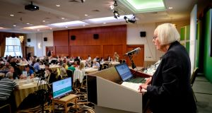 "The Citizens' Assembly's chairwoman Ms Justice Mary Laffoy said ""much more work is required"" to facilitate independent living in Ireland. Photograph: Maxwell's"