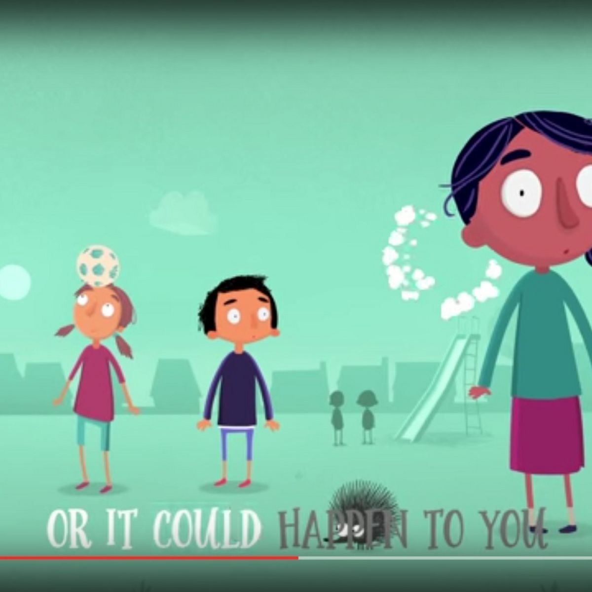 Is Childline's video for under-10s catchy or scary?
