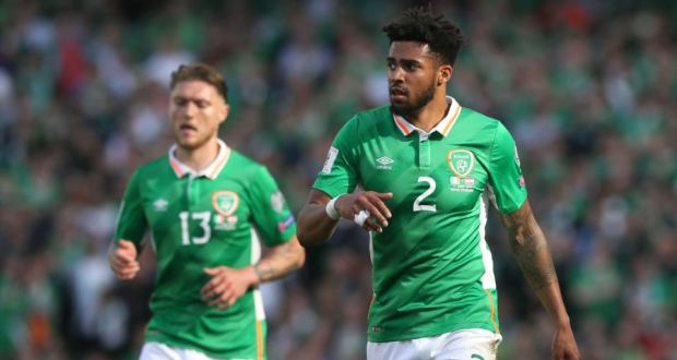 Republic Of Ireland S Cyrus Christie During The 2018 Fifa World Cup Qualifying Group D Match