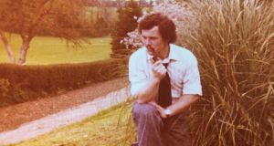 Father's Day: Ollie Clerkin in 1975. The pipe wasn't an affectation, but the rest of it – the GAA kneel, the flexed arm, the ever-so-slight hint of a smirk – is surely a put-on