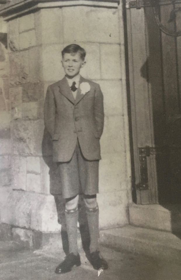 Father's Day: Maia Dunphy's dad, Tom, on his confirmation day, in New Ross in 1952