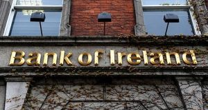 Bank of Ireland says it will invest €10m  in its branch network this year. Photograph: Getty Images