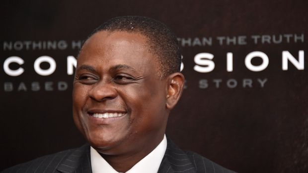 Dr Bennet Omalu stated rugby can never make the head safe. Photograph: Mike Coppola/Getty Images