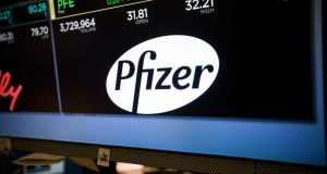Pfizer last year failed in its attempt o buy Allergan and move its headquarters to the Republic. Photograph: Bloomberg