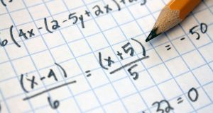 Project Maths reforms and bonus points mean record numbers are sitting higher level maths, but examiners  say  many struggle with basic skills.  Photograph: iStock