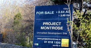 The successful bidder is expected to seek permission to build up to 550 apartments on the Montrose property, along with underground car parking. Photograph: Cyril Byrne
