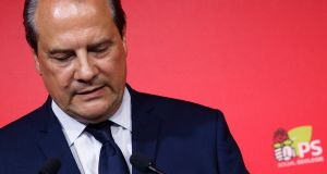 Socialists' downfall: Jean-Christophe Cambadélis, the party's secretary general, was among the electoral losers. Photograph: Geoffroy Van Der Hasselt/AFP/Getty