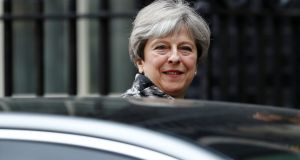 Britain's prime minister, Theresa May: power in her  cabinet has shifted since the election to those who favour a soft Brexit. Photograph: Stefan Wermuth