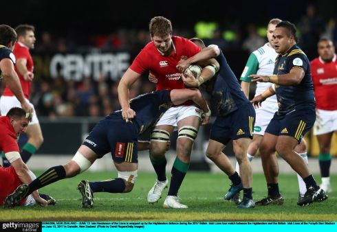 Iain Henderson - Excellent when coming onto the ball. High involvement, his work rate was good and was excellent at driving Highlanders off the ball. Impressive shift from the second row. Rating 8