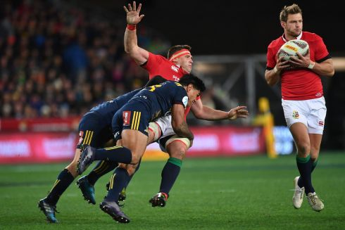 C J Stander - Redeemed himself somewhat in the second half. Carried a lot but not very far as Highlanders had his number from the beginning. Conceded a few penalties, but did steal a couple of balls on the deck. Rating 5